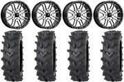 Msa Machined Brute 20 Wheels 36 Outback Maxand039d Tires Sportsman Rzr Ranger