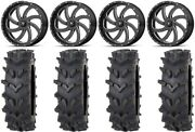 Msa Milled Switch 20 Wheels 35 Outback Maxand039d Tires Polaris Rzr Turbo S / Rs1