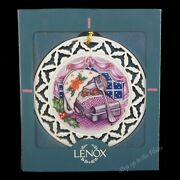 Lenox China Night Before Xmas 1st Ornament Not Creature Was Stirring Even Mouse
