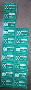 Texas Expired 2000 License Plate Registration Stickers Nos