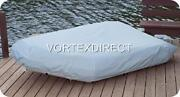 New Grey Vortex Heavy Duty 12 1/2 Ft Inflatable Boat Cover Fast Free Shipping
