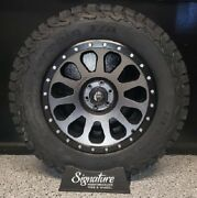 20x10 D601 Fuel Vector Wheel And 35/12.50r20 Bfg At Ko2 Package