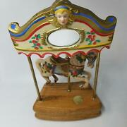 Willitts Designs Music Box Tobin Fraley Collection Melodies Horse Carousel Waltz