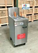 Commercial Noodle Pasta Ramen Cooker Stainless Steel Pn34 Nsf Etl Natural Gas