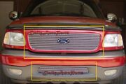 Fit 99-03 Ford Expedition Aluminum Billet Grills Grille Insert Combo Upper+
