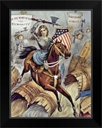 Prohibition And The Womanand039s Holy War Black Framed Wall Art Print Home Decor