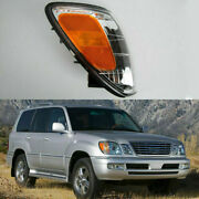 Fit For Lexus Lx470 1998-2007 Front Bumper Turn Signals Lights Corner Right Side