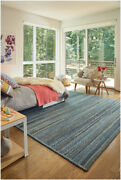 Capel Rugs Harborview Cross Sewn Wool Blend Slate Gray Country Braided Rug