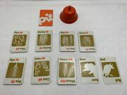 U-pick Vintage 1973 Pit Trading Game Parker Brothers Parts Pieces Bell Cards