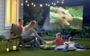 Mr. Drive In Complete Outdoor Smart Home Theater With Carry Case
