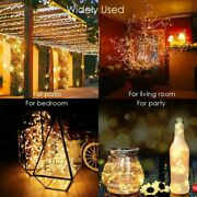 Led Outdoor Solar Lamp Leds String Lights Fairy Holiday Christmas 21/31/41/51 M