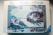 Ravensburger Puzzle 174089 Creation Of Adam Newyear 2004 In Sealed Box