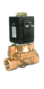 Boiler Blowdown Solenoid Valve. 3/4 Inch Pipe Connection. 140 Psi Max