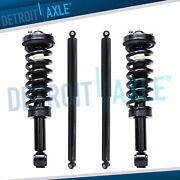 4wd Front Struts W/ Coil Spring + Rear Shock Absorbers For 2009-2013 Ford F-150