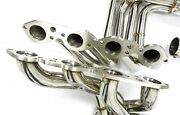 Stainless Steel Long Tube Header For 1965-1974 Chevy Corvette Big Block By Mhp