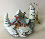 Walt Disney Classics Enchanted Places Ornament Nestled Snow Peter And The Wolf