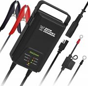 6v 12v Auto Car Truck Van Atv Boat Snowmobile Battery Trickle Charger Maintainer
