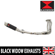 Kawasaki Z900rs And Cafe 4-1 Exhaust System Gp Round Carbon Muffler 230cr