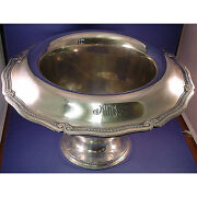 And Co Sterling Large Center / Punch Bowl