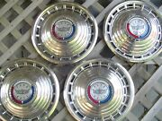 1963 Ford Galaxie 500 Hubcaps Wheel Covers Center Caps Antique Vintage Classic