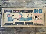 Allstate Vintage Ho Hobby Electric Train Set Rock Island Engine / Empty Box Only