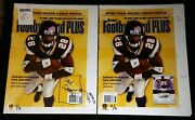 Adrian Peterson Bgs 1/2 And 2/2 Rookie Set 2007 Rc 1st Beckett Cover Insane Rare