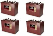 Replacement Battery For Ezgo / Cushman / Textron Freedom Rxv 48 Volts 4 Pack 48v