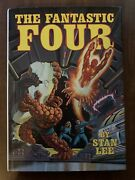 The Fantastic Four Hard Cover With Dust Jacket By Stan Lee Fireside Rare 1979