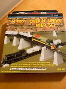 Ho Scale - 47-piece Over Nand039 Under Pier Set Nifb By Atlas T1