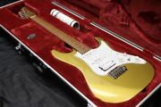 Ibanez Az2204 Gd Prestige Made In Japan Gold Ver. Electric Guitar With Hard Case