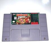 Donkey Kong Country Super Nintendo Snes Game Tested And Working Authentic
