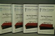 Lot The Great Courses The Old And New Testament Augustine Francis Assisi Aquinas