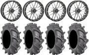 System 3 St-3 Machined 20 Wheels 38 Bkt At 171 Tires Polaris Rzr Turbo S / Rs1