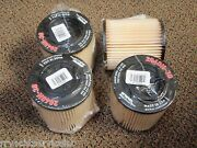 Racor Fuel Filter Turbine Series Replacement 2040n30 30 Micron Red 4 Pac Filters