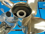 Propeller Fits Omc Cobra Sea Drive Pa14214 Hub-502 4 Blade Prop Stainless Prop