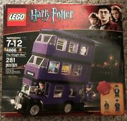 Lego -- Harry Potter The Knight Bus 4866 100 Complete W/ Box And Instructions