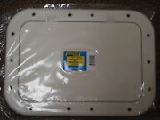 Hatch Pry Up White Rabud Hatch Cover Deck Plate 50-39121 Boat Marine Hardware