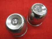 Vintage 1960and039s Era Appliance Mag Wheel Center Caps Chevy Ford Dodge Pontiac Old