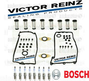 Bmw Tube Seal's,bosch Double Platinum Spark Plugs+valve Cover Gasket's
