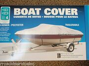 Boat Cover V-hull Runabouts Low Profile 50-97341 Boats 19ft To 21ft 105 Beam