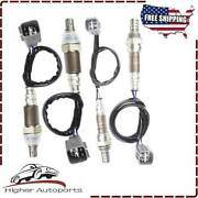 4x Oxygen Sensor 1 And 2 For Toyota Tundra 2007 2008 2009 4.7l 5.7l Up +downstream