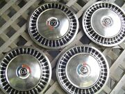 1963 63 Ford Fairlane Hubcaps Wheel Covers Center Caps Antique Vintage 14 In.