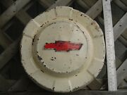 One Vintage Antique Chevy Chevrolet Apache Cameo Pickup Truck Hubcap Wheel Cover