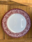Set Of 8 Wedgwood Mayfair Dinner Plates By Wedgwood For Williams Sonoma