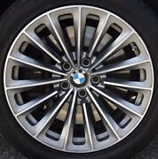 Bmw F10 F07 F01 F02 5 And 7 Series Oem 252 Style Radial Spoke 19 Wheels Forged