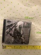 Lita Ford Signed Autograph Cd Living Like A Runaway Kiss Me Deadly Rare