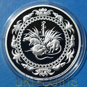 2008 Mongolia Lunar 子 Year Of The Mouse Rat 1oz Silver Proof Coin Chinese Zodiac