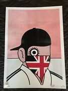 Paul Insect Clockwork Britain Red Signed And /70 Print