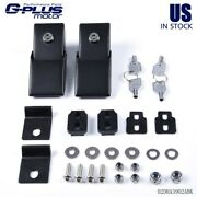 Fit For Jeep Wrangler Jk Accessories Metal Locking Hood Lock Catch Latches 07-17