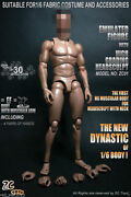 1/6 Scale 12and039and039 Male Muscle Body Soldier Action Figure W/neck Fit Head Sculpt Toy